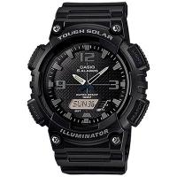 Casio Illuminator Tough Solar Men's Black Alarm Chronograph Watch AQ-S810W-1A2VEF