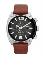 Diesel Brown Overflow Chronograph Watch