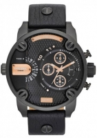 Diesel Baby Daddy Black Chronograph Watch