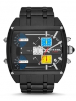 Diesel Black Mothership Renzo Edition Chronograph Watch