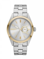 DKNY Nolita Men's Silver & Gold Watch NY1531