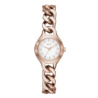 DKNY Chambers Ladies Rose Gold Chain Watch NY2214