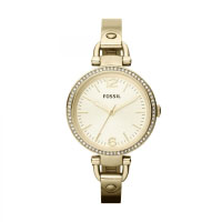 Fossil Georgia Ladies Gold Watch ES3227