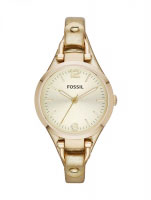 Fossil Georgia Cuff Ladies Gold Watch ES3414