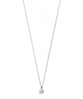 Estella Bartlett Like a Diamond Star Silver Necklace