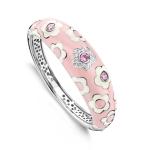 Belle Etoile Fleur Pink Bangle