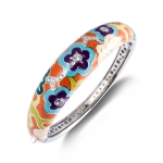 Belle Etoile Cherry Blossom Orange Bangle