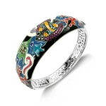 Belle Etoile Under The Sea Black Bangle