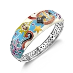 Belle Etoile Under the Sea White Bangle
