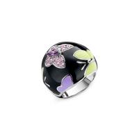 Belle Etoile Papillion Black Ring