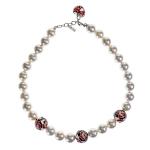 Belle Etoile Botanique Red Necklace