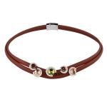 Belle Etoile Element Brown Necklace