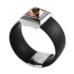 Belle Etoile Rebel Black Bangle