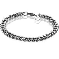 Zinzi Silver 19cm Gourmet Bracelet
