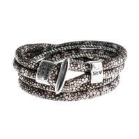 Senta La Vita Stingray Double Wrap Charm Bracelet