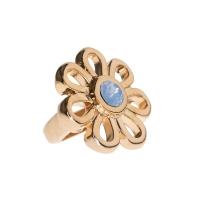 Senta La Vita Air Blue Opal Swarovski Flower Charm