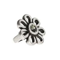 Senta La Vita Black Diamond Swarovski Flower Charm