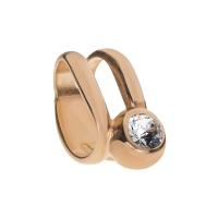 Senta La Vita Clear Swarovski Double Ring Charm