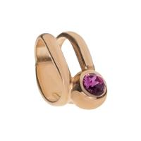 Senta La Vita Rose Swarovski Double Ring Charm