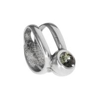 Senta La Vita Black Diamond Swarovski Double Ring Charm
