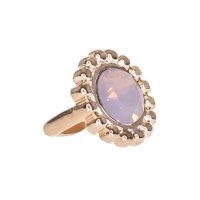 Senta La Vita  Rose Water Opal Swarovski Edge Charm