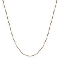 Senta La Vita Rose Gold Plated 45cm Bead Necklace