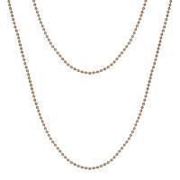 Senta La Vita Rose Gold Plated 90cm Rolo Necklace