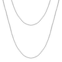 Senta La Vita Silver Colour 90cm Rolo Necklace