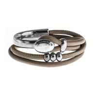 Senta La Vita Earth Double Wrap Half Bracelet