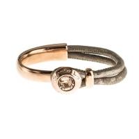 Senta La Vita Metallic Earth Half Bracelet with Swarovski Stone