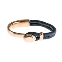 Senta La Vita Perlato Blue Half Bracelet