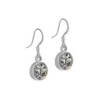 Senta La Vita Black Diamond Swarovski Earrings